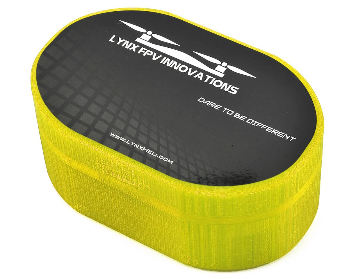 Lynx Heli Plastic Carrying Case (TinyFPV/InductrixFPV/Spider65) (Yellow) (Blade Inductrix FPV)