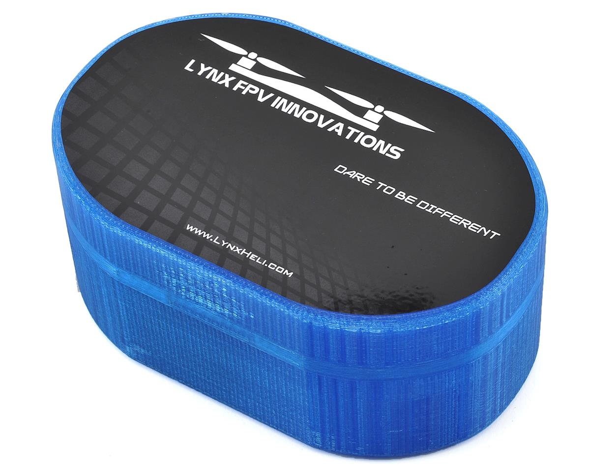 Lynx Heli Plastic Carrying Case (TinyFPV/InductrixFPV/Spider65) (Blue) (Blade Inductrix FPV)