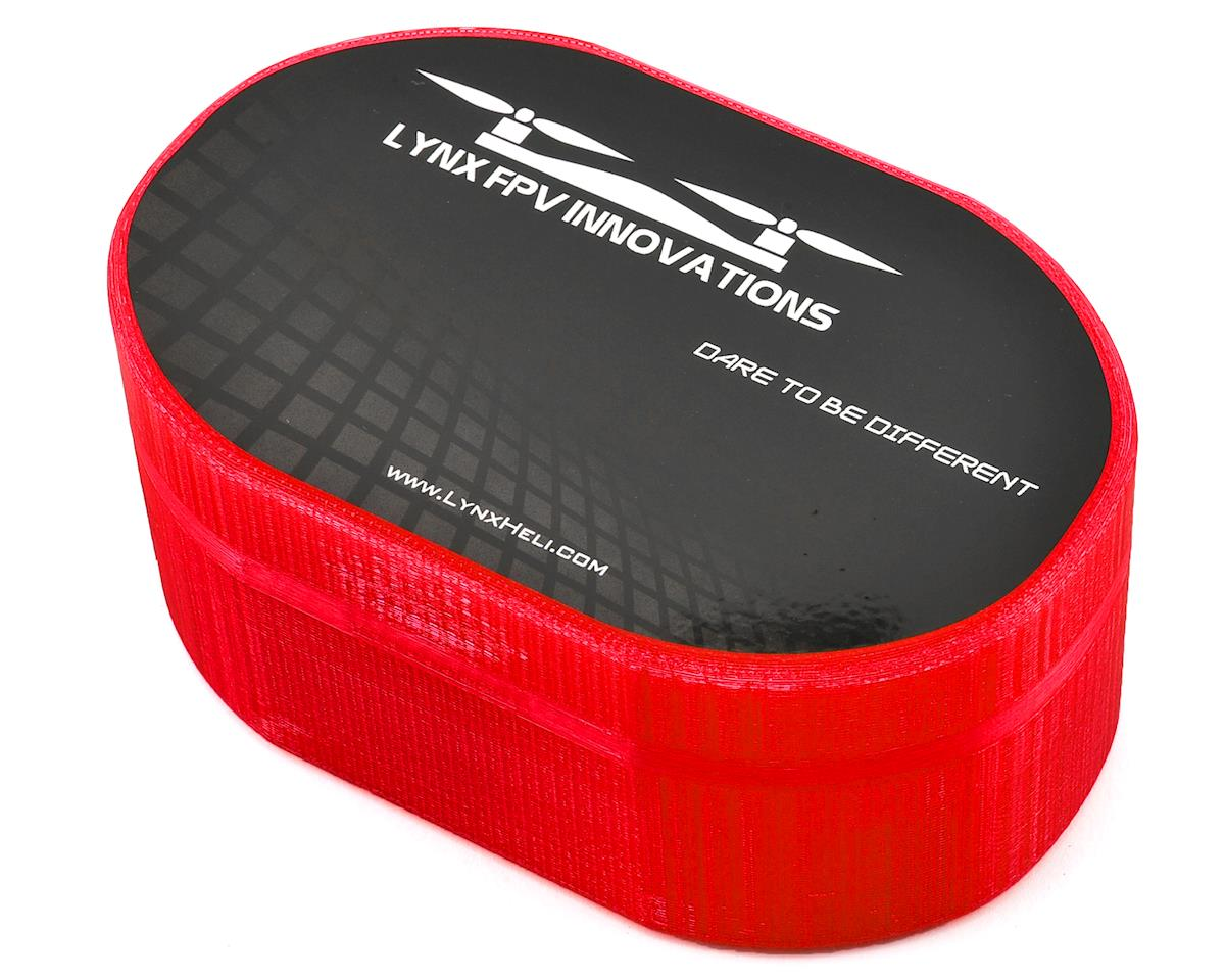 Lynx Heli Plastic Carrying Case (TinyFPV/InductrixFPV/Spider65) (Red) (Blade Inductrix FPV)