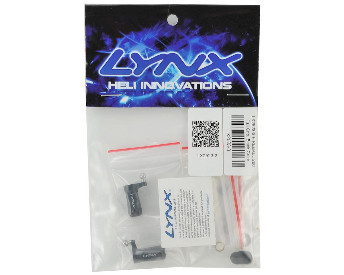 Lynx Heli Fireball/Mini Comet Tail Blade Grip (Black)