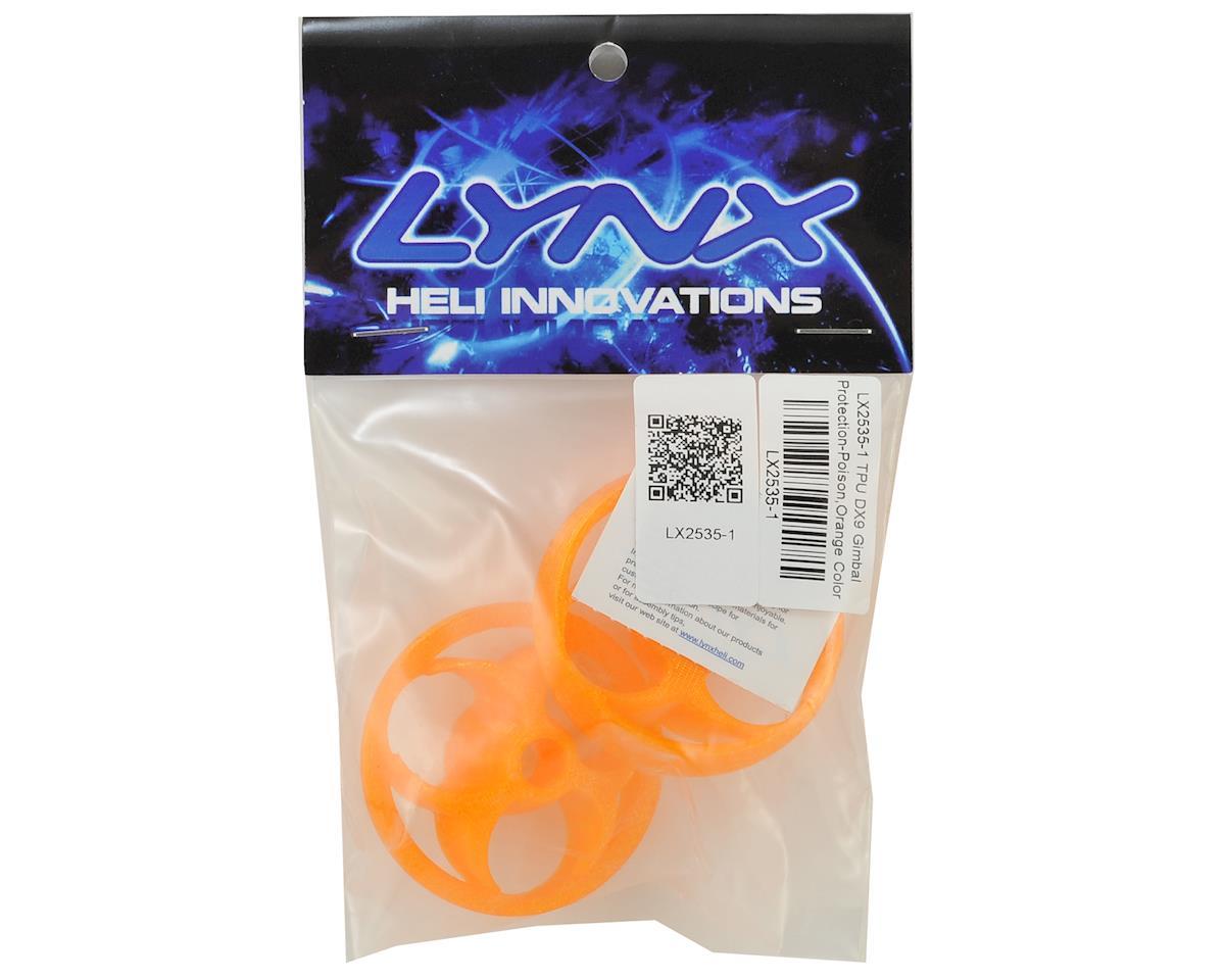 Lynx Heli TPU DX9 Gimbal Protector (Poison Logo) (Orange)