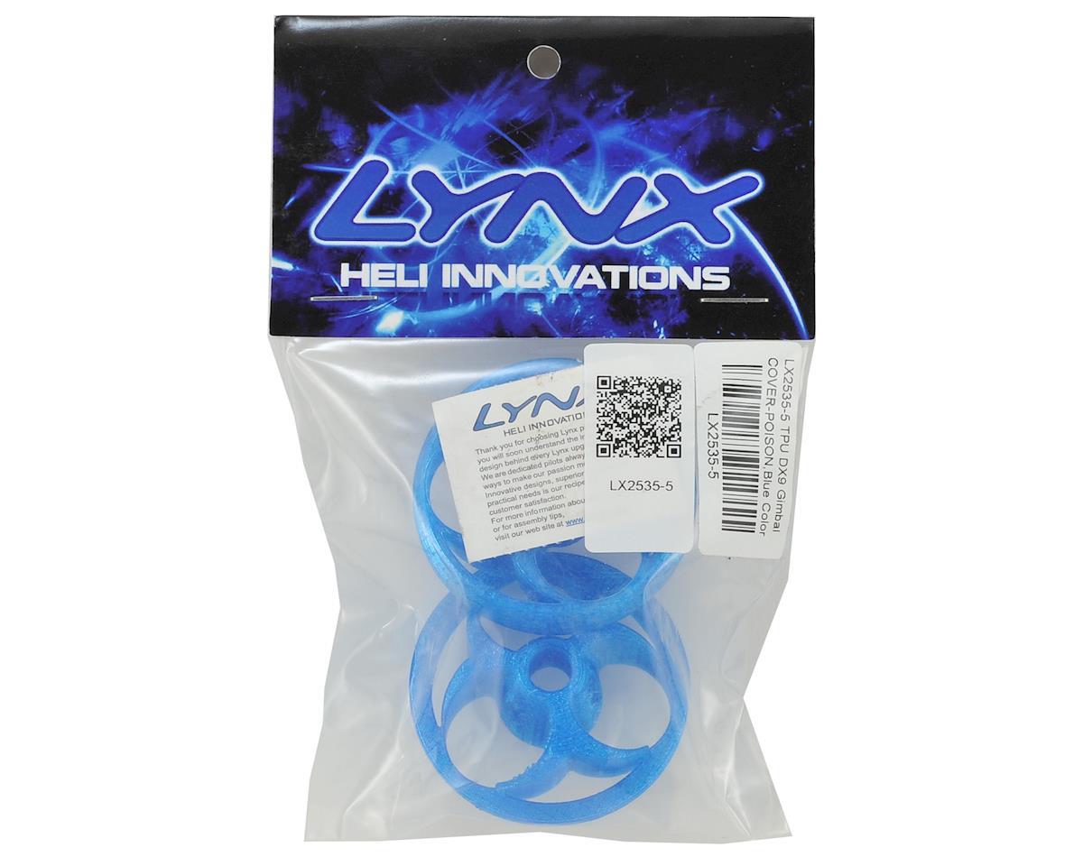 Lynx Heli TPU DX9 Gimbal Protector (Poison Logo) (Blue)