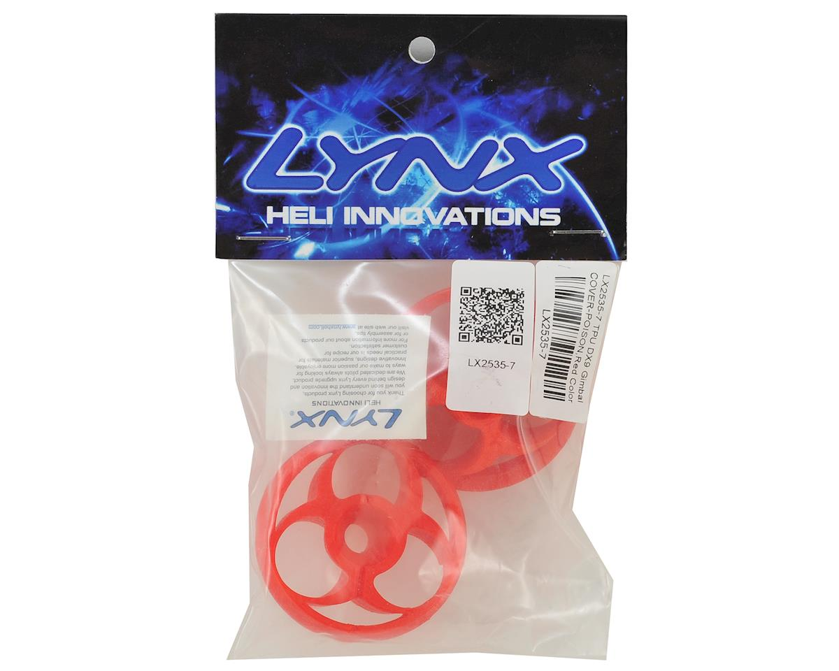 Lynx Heli TPU DX9 Gimbal Protector (Poison Logo) (Red)
