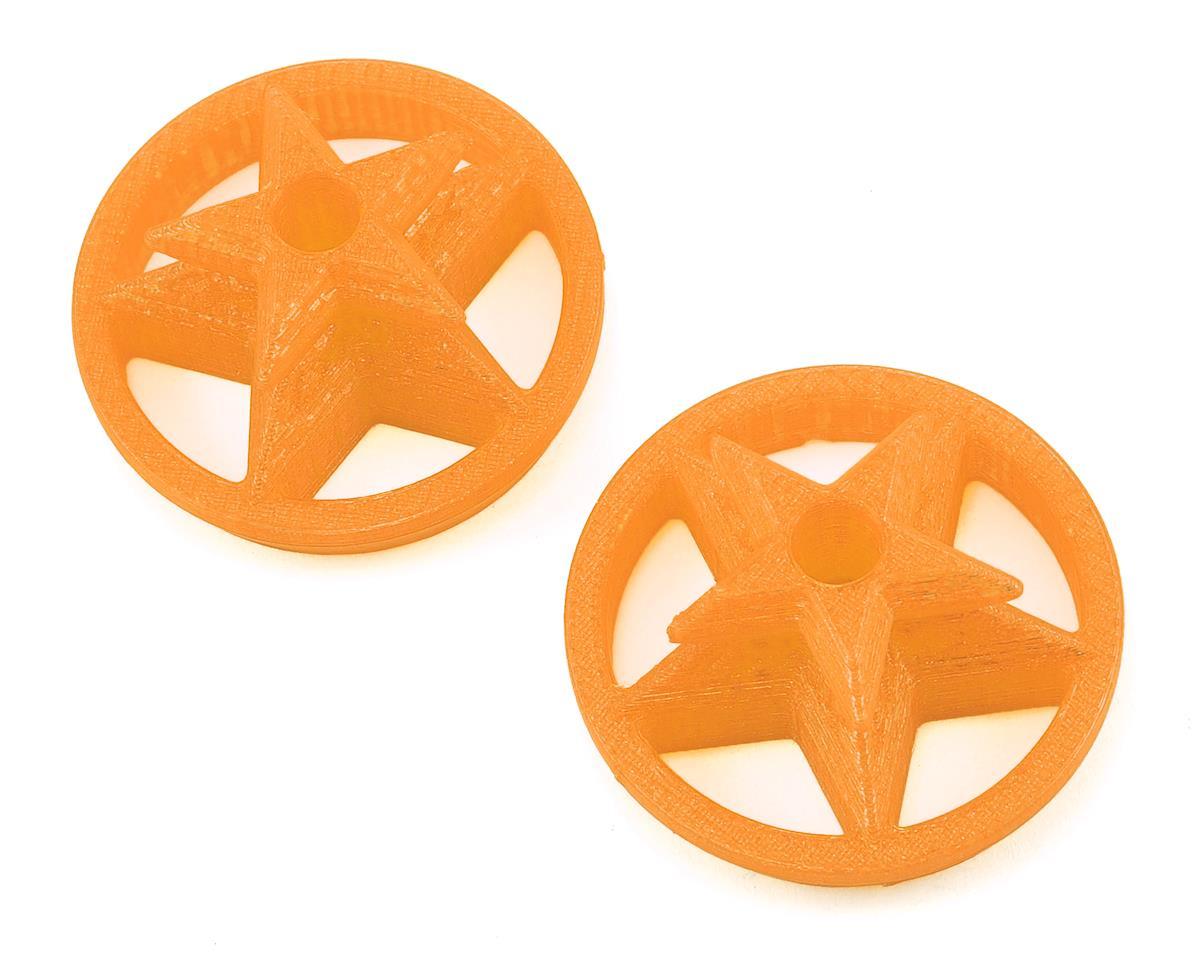 Lynx Heli TPU DX9 Gimbal Protector (Captain America Logo) (Orange)
