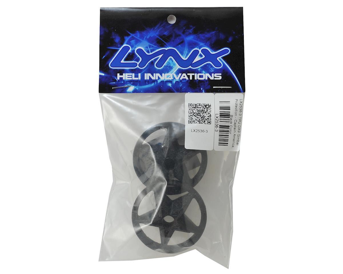 Lynx Heli TPU DX9 Gimbal Protector (Captain America Logo) (Black)