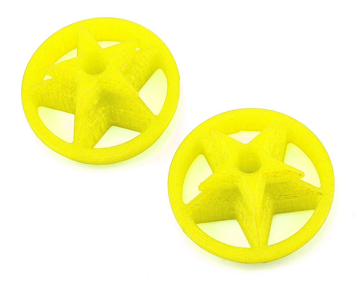 Lynx Heli TPU DX9 Gimbal Protector (Captain America Logo) (Yellow)