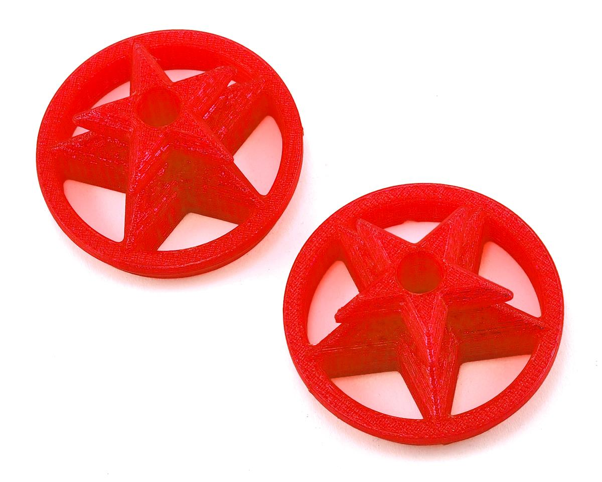 Lynx Heli TPU DX9 Gimbal Protector (Captain America Logo) (Red)