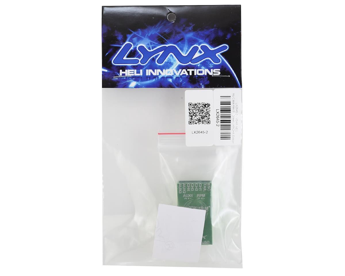 Lynx Heli Aluminum Vbar NEO Case (REV-B) (GREEN) (KRCHA)
