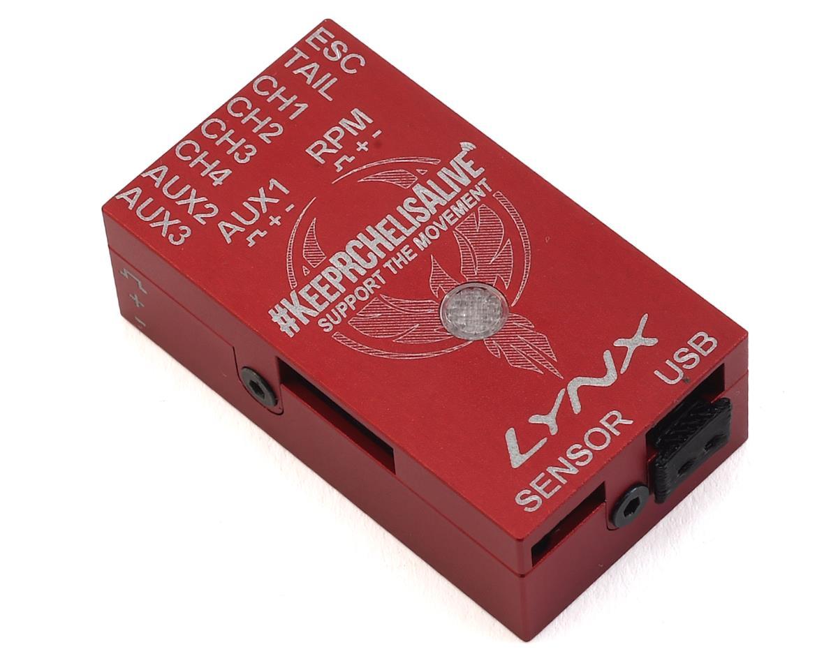 Lynx Heli Aluminum Vbar NEO Case (REV-B) (RED) (KRCHA)
