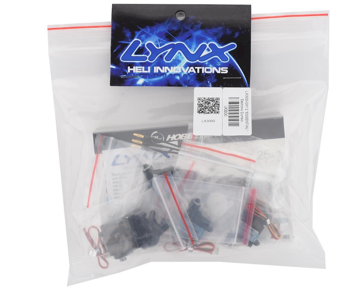 """Lynx Heli Oxy 2 """"Essential"""" Electronic Combo"""