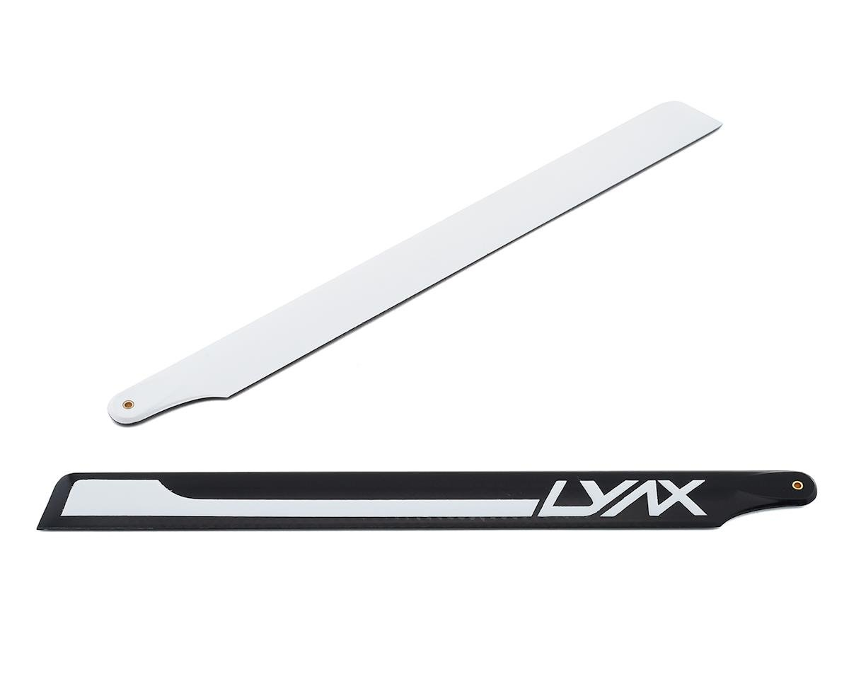 Lynx Heli 215mm Carbon Fiber Main Blades