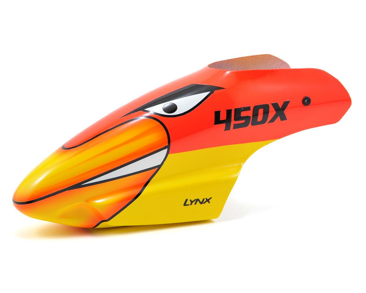 Lynx Heli Blade 450 X STD Profile Fiberglass Canopy (Scheme 04 - Red/Yellow. u2039  sc 1 st  AMain Hobbies & Lynx Heli Blade 450 X STD Profile Fiberglass Canopy (Scheme 04 ...
