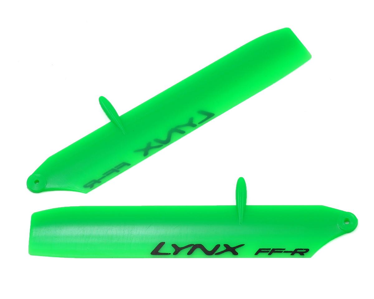 Lynx Heli 85mm Bullet Replica Plastic Main Blade Nano CP X (Green) (Nano X)