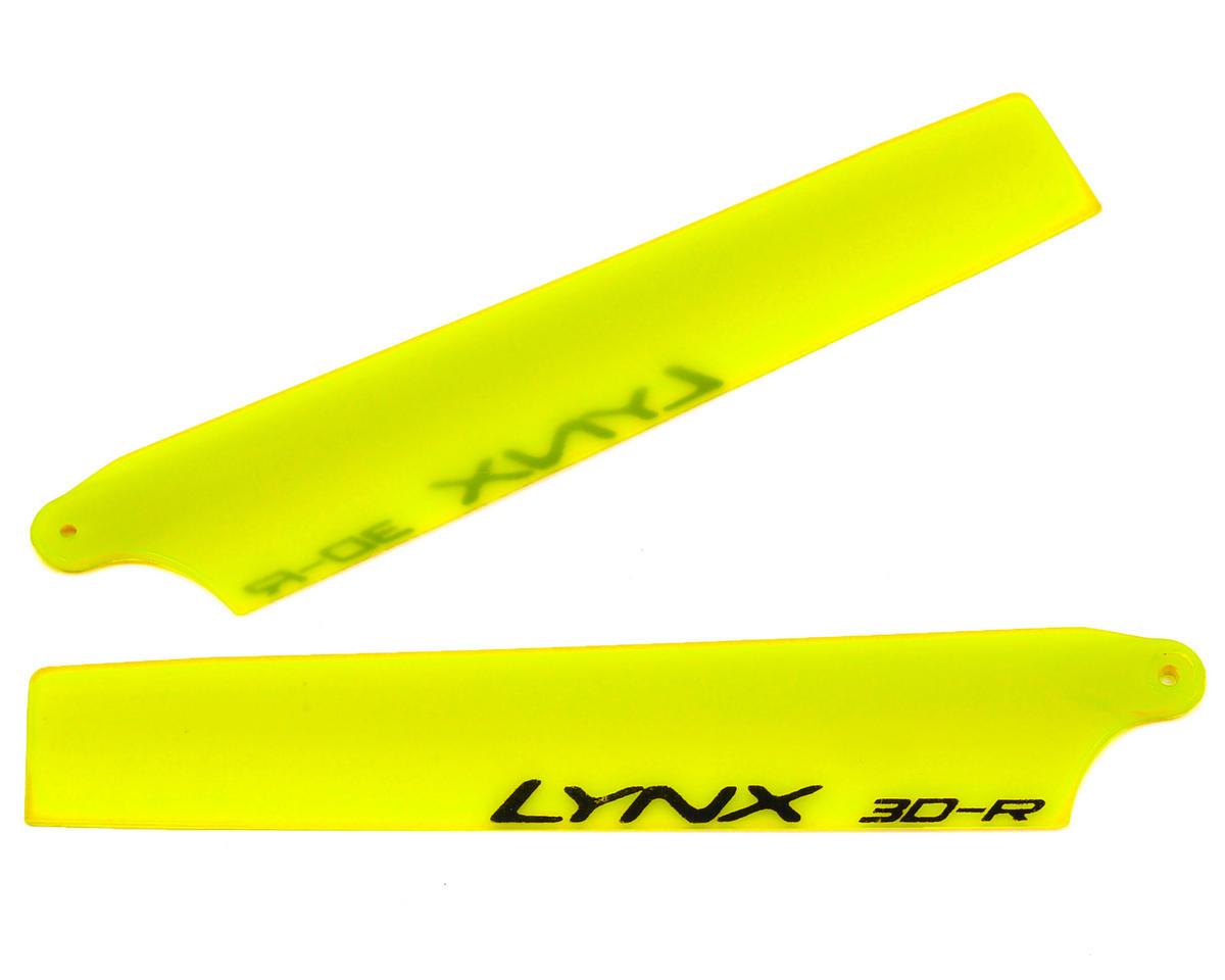 "Lynx Heli 95mm ""Stretch Replica Edition"" Plastic Main Blade Set (Yellow) (Blade Nano CP X)"
