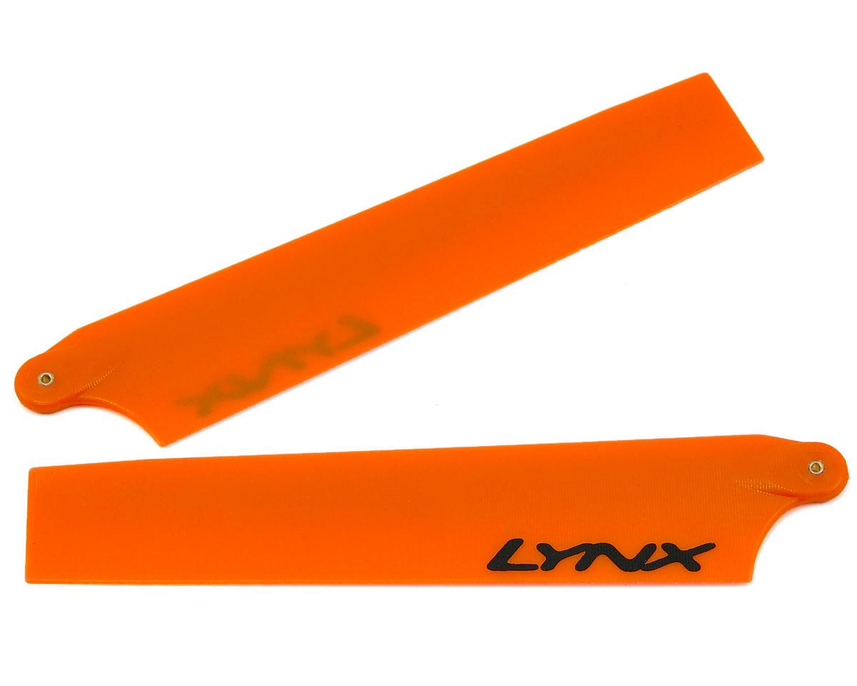 Lynx Heli 105mm Plastic Main Blade Set (Neon Orange) (AXE 100)
