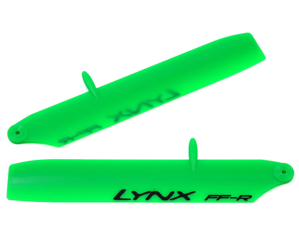 Lynx Heli 115mm Bullet Replica Plastic Main Blade (Green) (mCP X BL)
