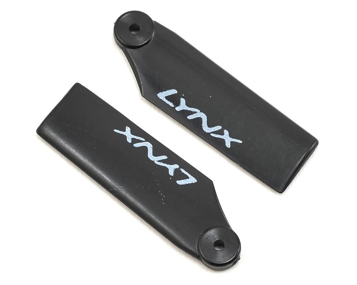 Lynx Heli 180CFX 34mm Plastic Tail Blade (Black)