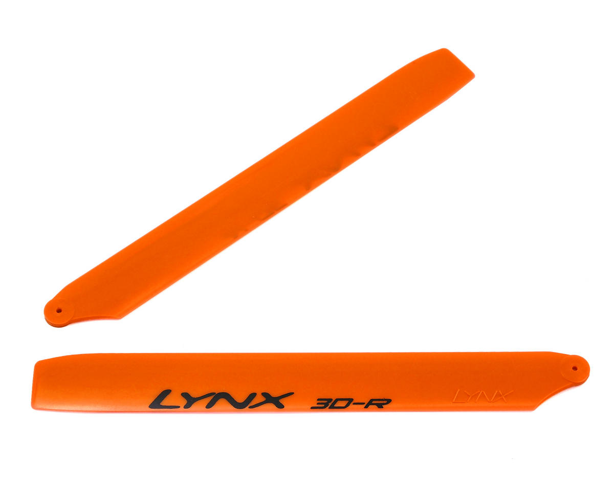"Lynx Heli 180CFX 160mm ""Pro Edition"" Plastic Main Blade Set (Orange)"