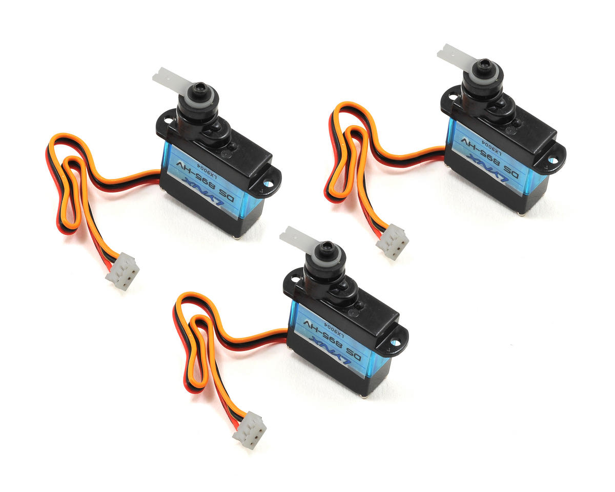 Lynx Heli 180CFX DS-895-HV Cyclic Servo Set (3)