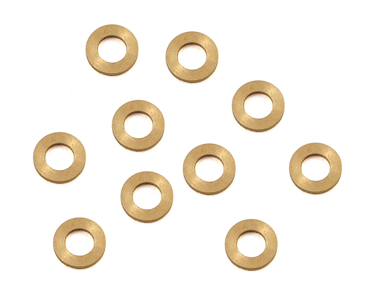 2x3.5x0.5mm Brass Shim (10) by Lynx Heli (Oxy OXY 3)