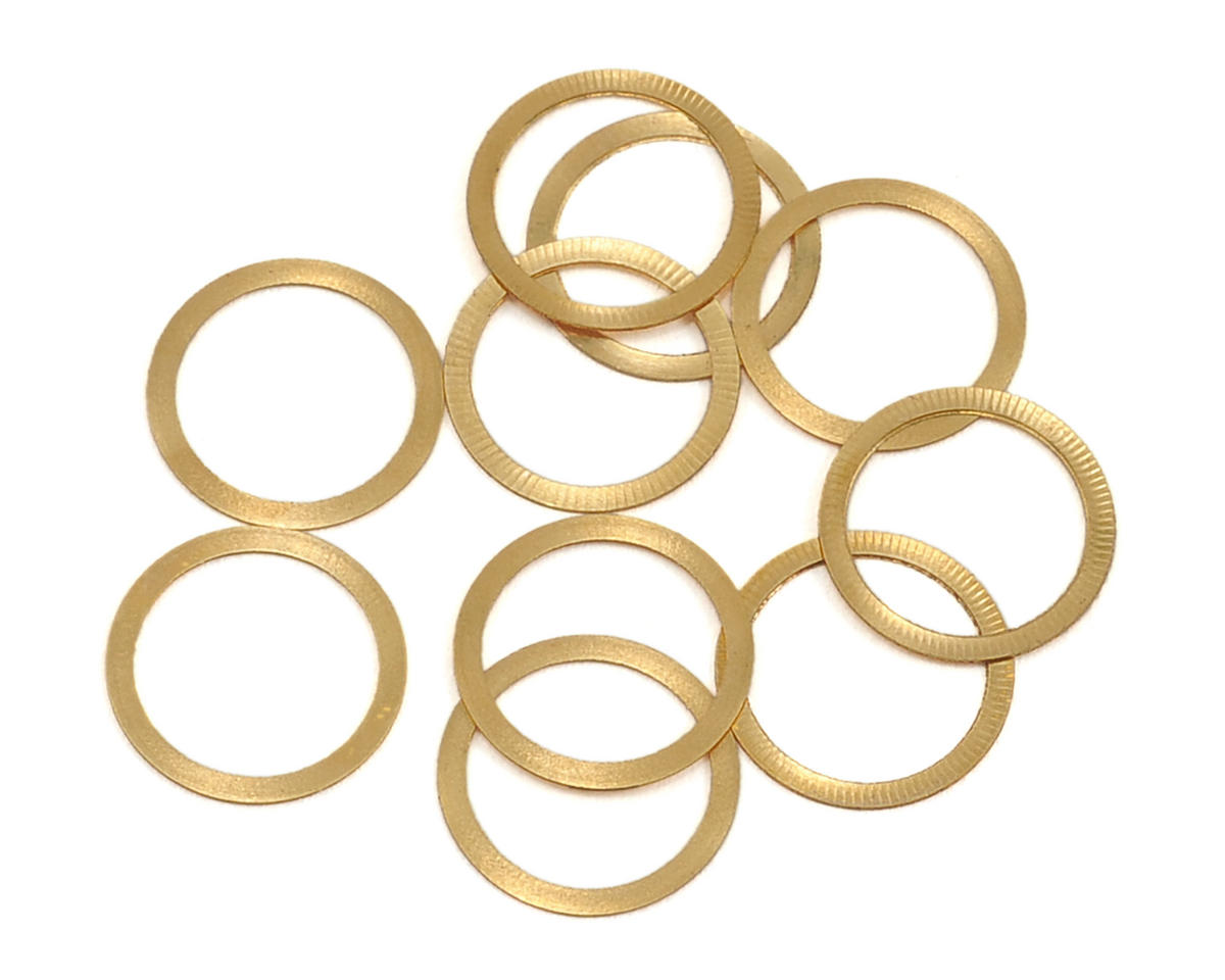 Lynx Heli 8x10x0.2mm Brass Shim (10)