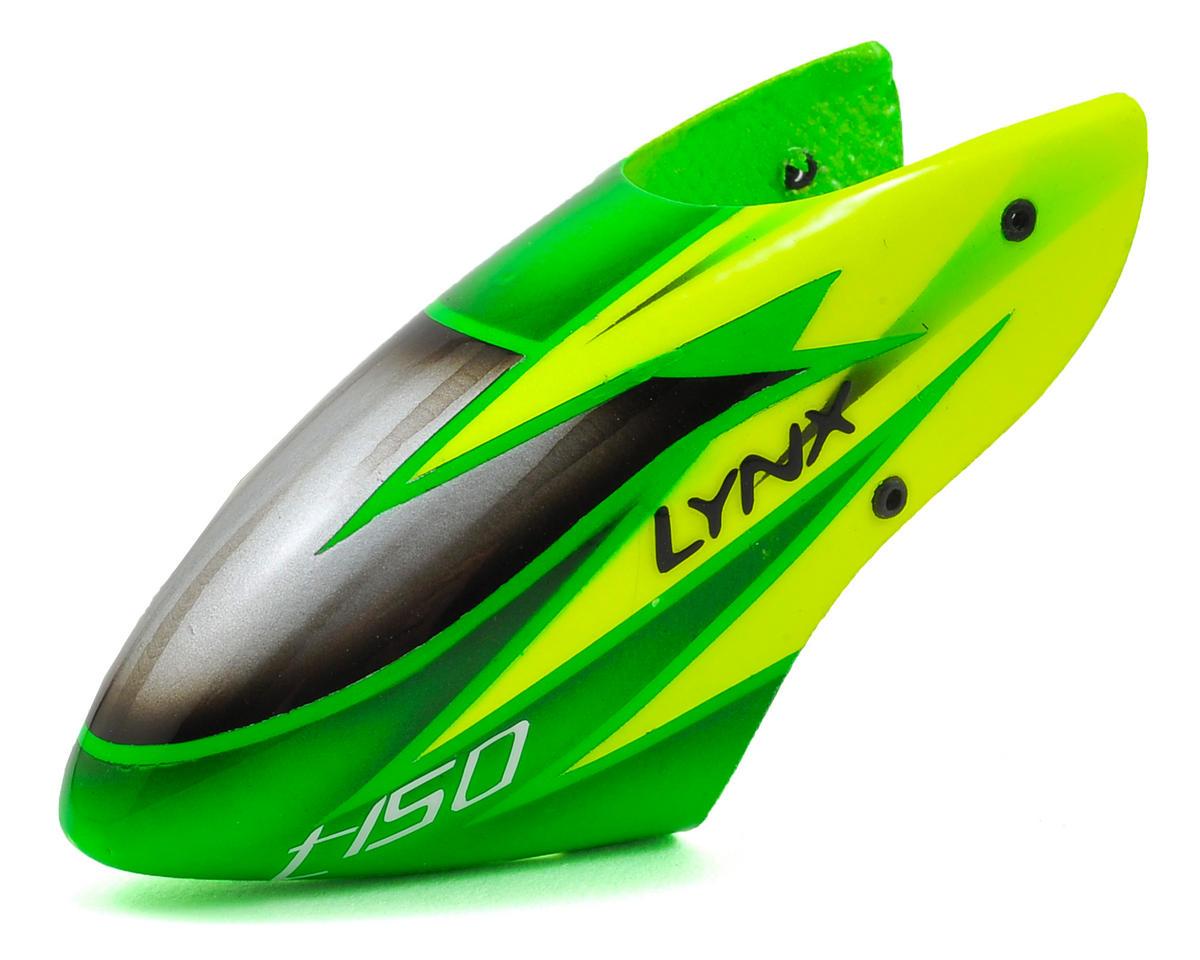 Lynx Heli Align T-Rex 150 STD Profile Fiberglass Canopy (Scheme 02 - Green/Light Green)
