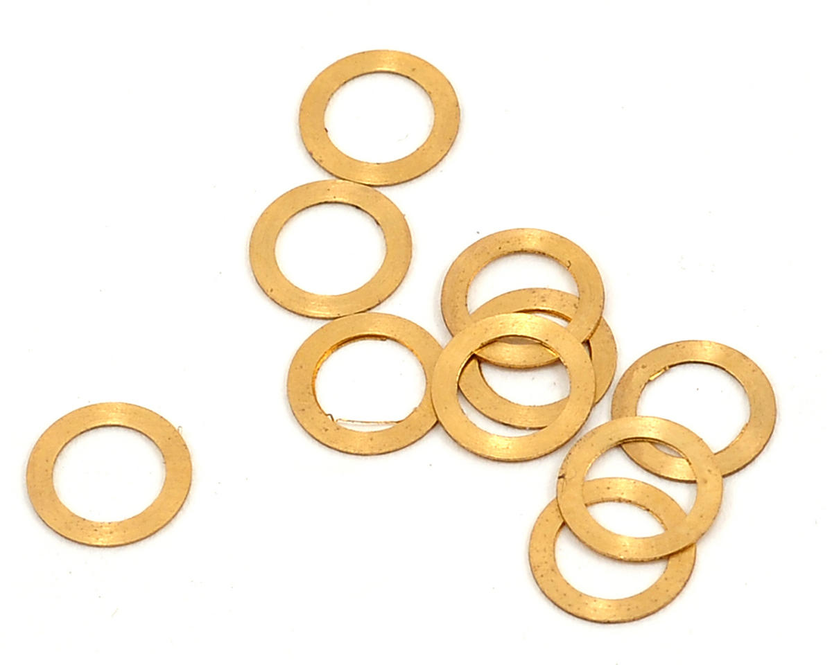 Lynx Heli 4.2x6x0.2mm Brass Washer (10)