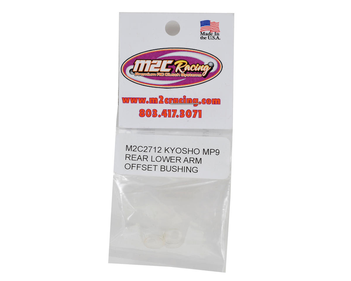 M2C Racing Kyosho Inferno MP9 TKI3 Rear Lower Arm Bushing (4) (Offset)