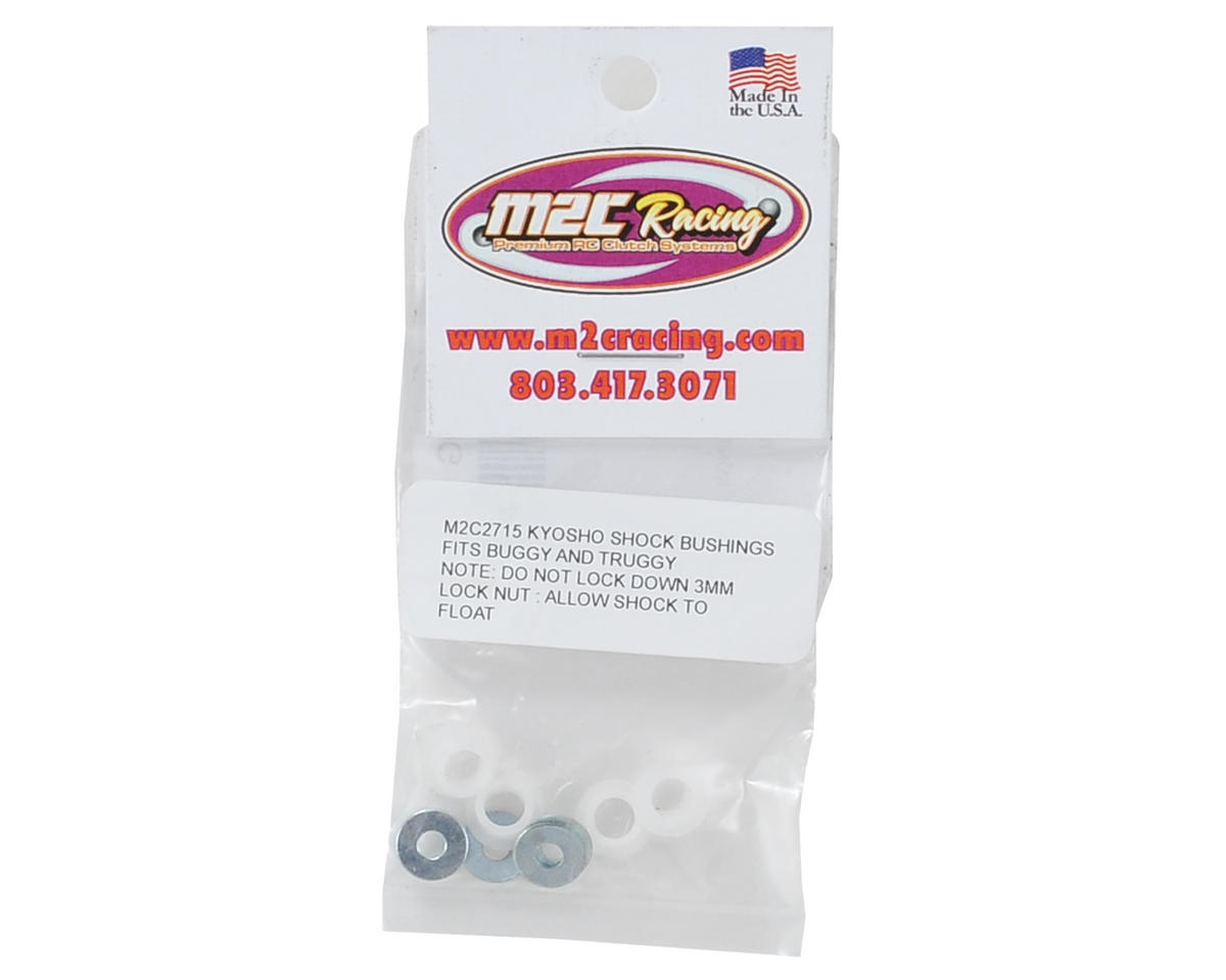 M2C Kyosho Delrin Shock Bushings (4)