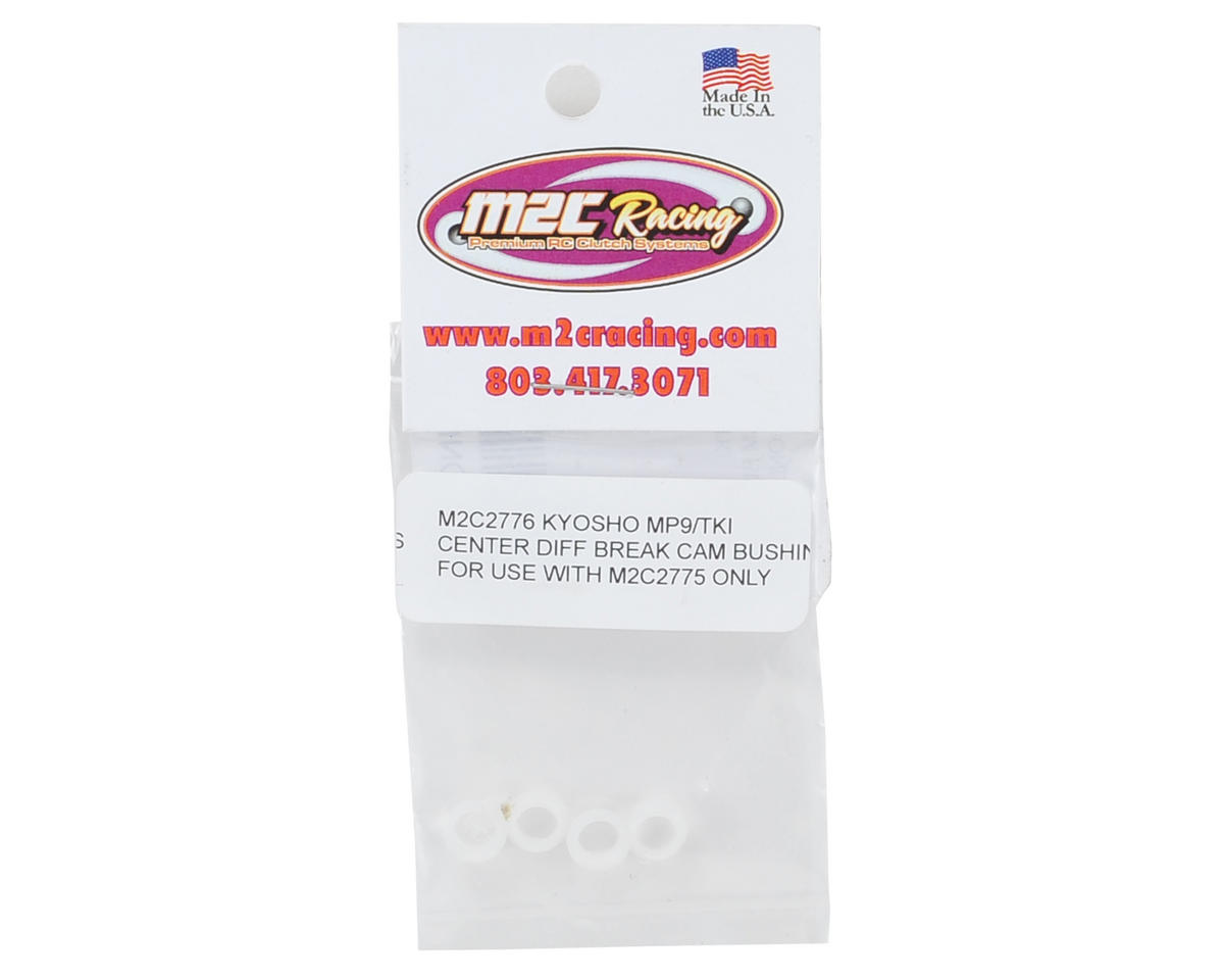 M2C Racing Kyosho Inferno MP9 TKI3 Delrin Brake Cam Bushings