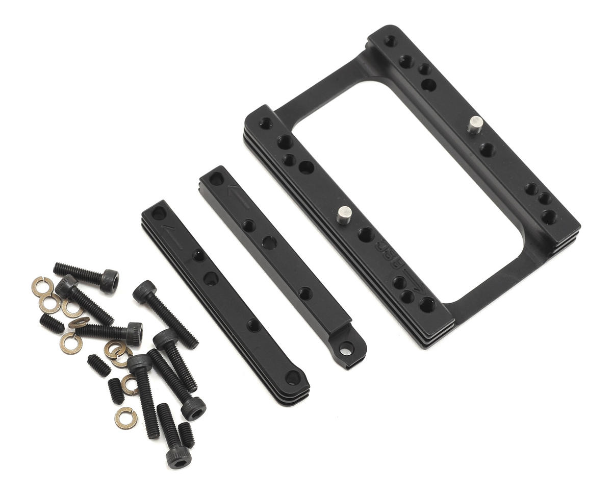 M2C Associated RC8B3 3-Piece Quick Change Motor Mount Set