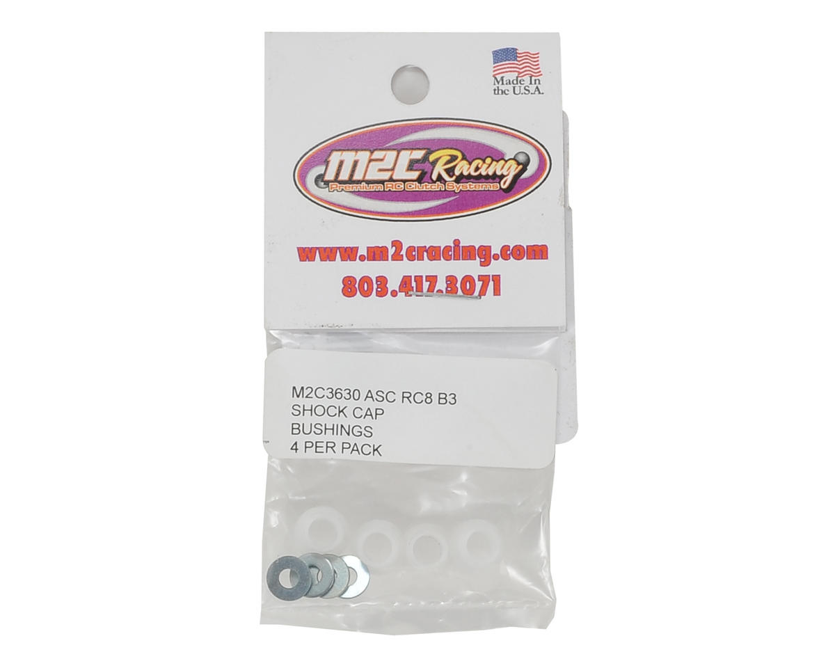 Image 2 for M2C Associated RC8B3 Delrin Shock Cap Bushings
