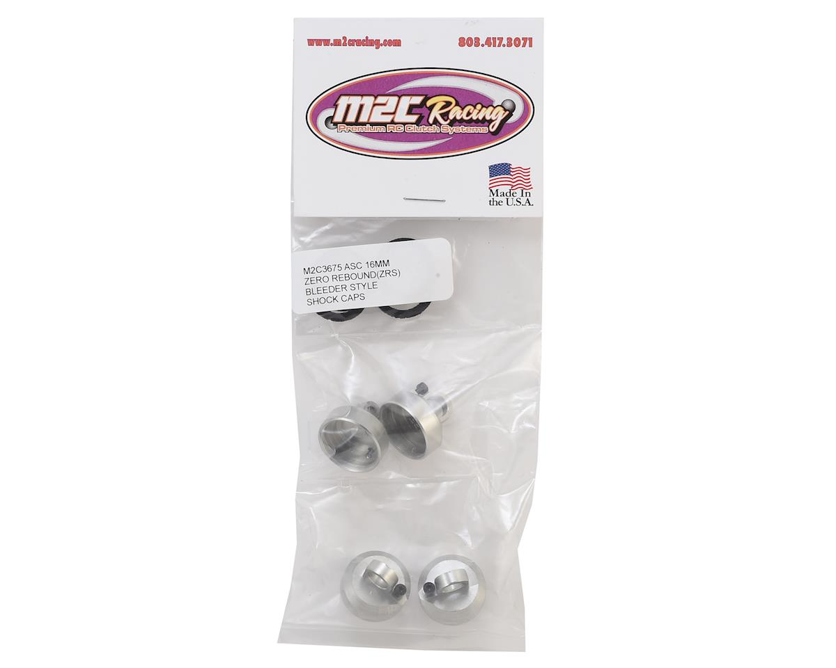 "M2C Associated RC83.1 16mm ""ZRS"" Zero Rebound System Shock Caps (4)"