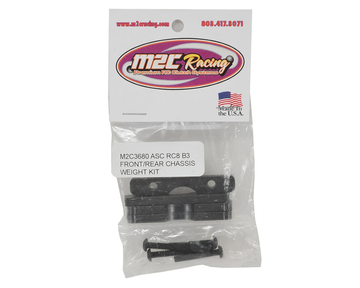 M2C Racing Associated RC8B3 Chassis Weight Kit