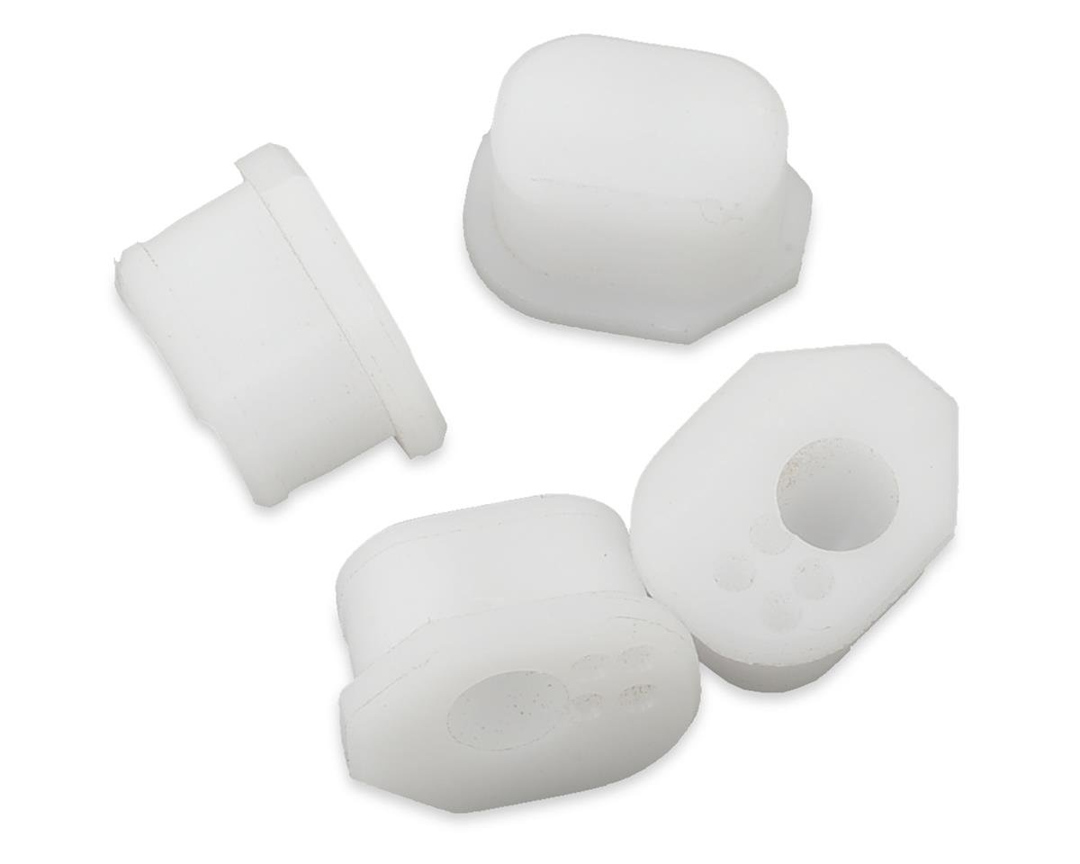 M2C Racing 4 Dot Insert (White) (4) (1/4 Degree Off Center) (Mugen Seiki MBX7)