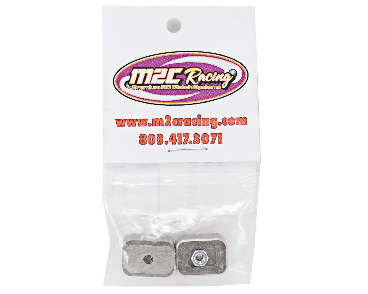 M2C Racing THE Car 1/2 oz Brass Weight Set (2)