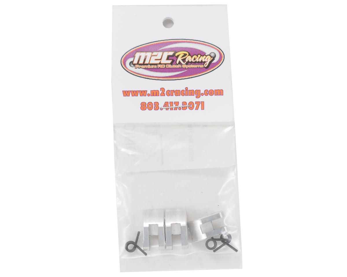Medium Mugen Style Clutch Shoe Set w/Short Springs (1.5 Grams) by M2C