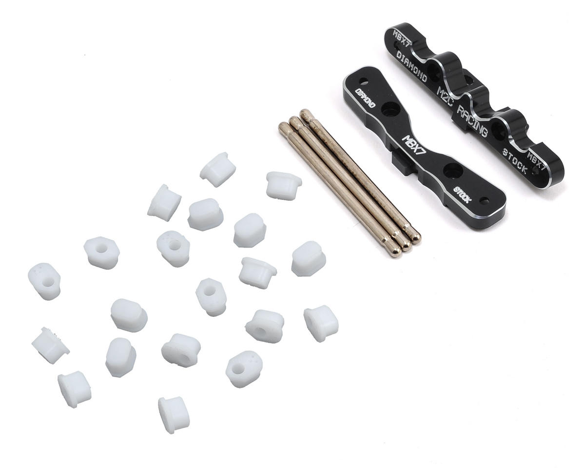 M2C Racing Mugen MBX7 Basic Rear Toe Block Hinge Pin System
