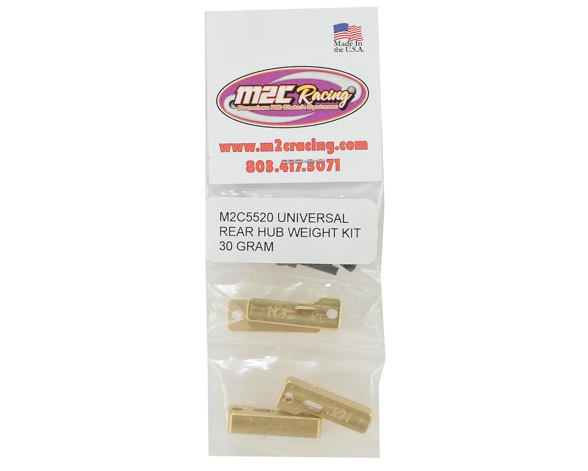 M2C Universal Rear Hub Weight Kit