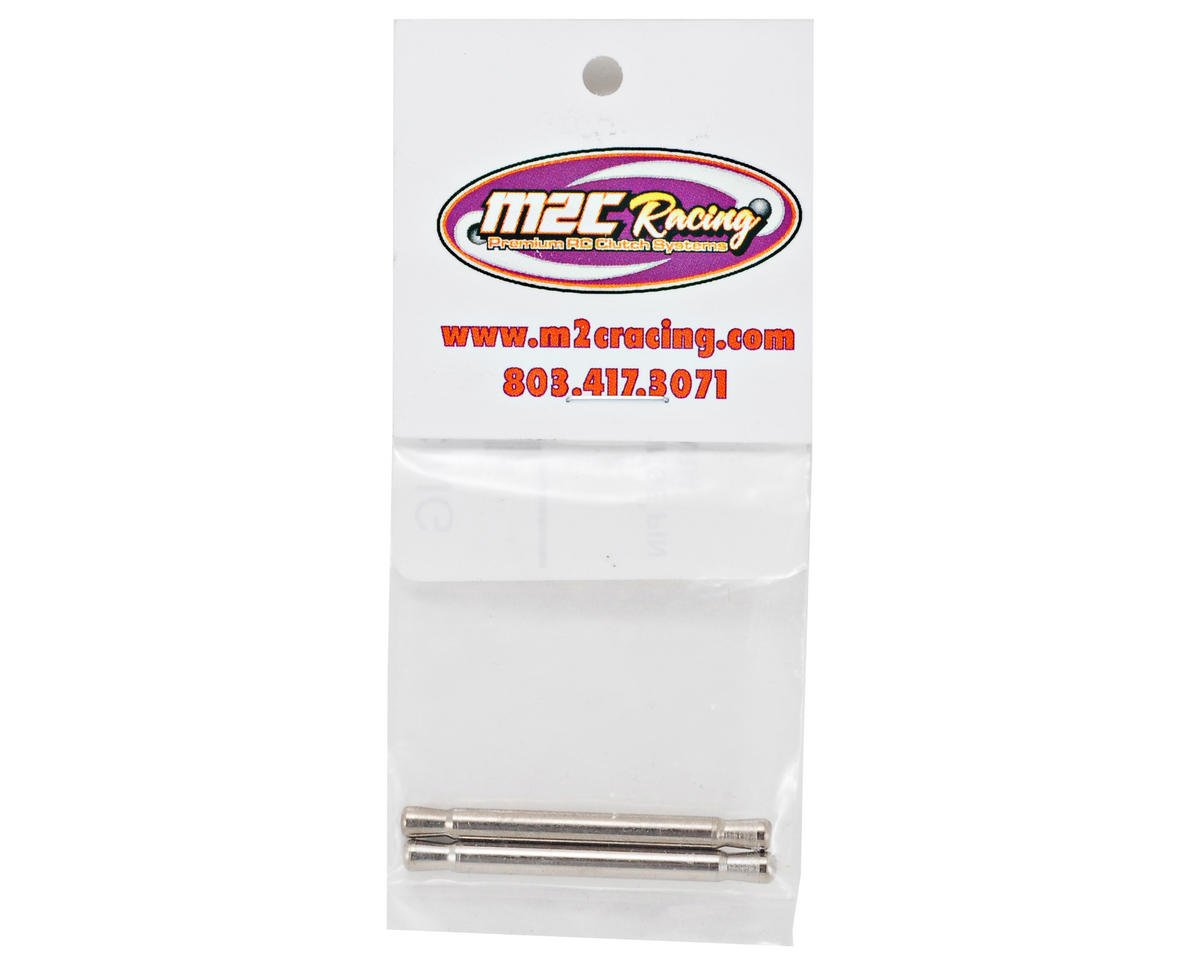 M2C Racing Mugen MBX6 Tapered Front Upper Hinge Pin Set (2)