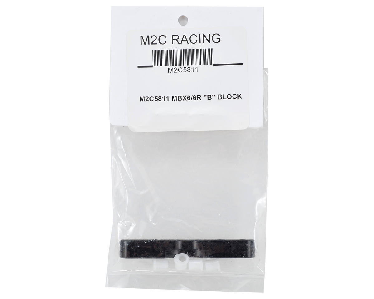 M2C Racing MBX6 Front Lower B Block
