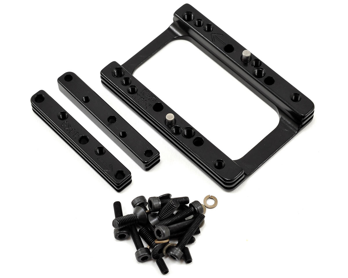 M2C Racing MBX6/MBX6R 3-Piece Quick Change Motor Mount Set