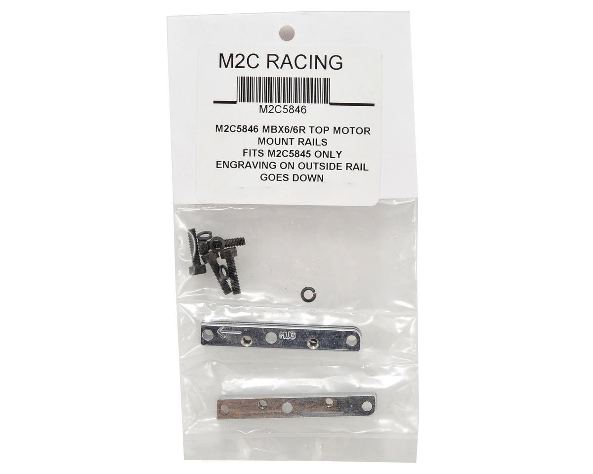 M2C Racing MBX6/MBX6R 3-Piece Quick Change Motor Mount Top Block Set