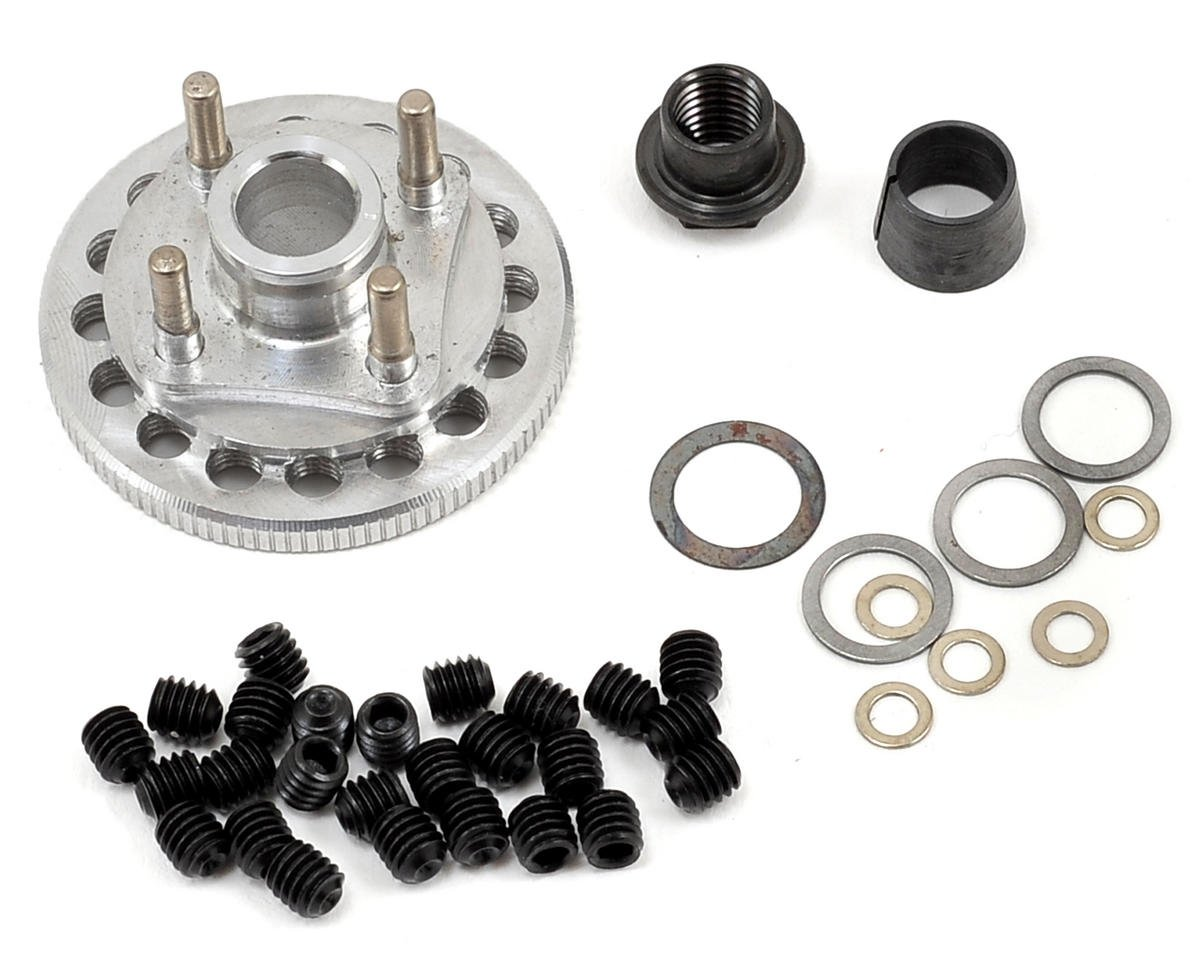 M2C Racing Gen 2 34mm Quick Change 4 Shoe Adjustable Flywheel & Hardware Set (Kyosho Inferno ST)