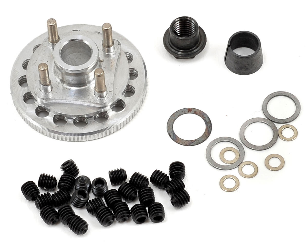 M2C Racing Gen 2 34mm Quick Change 4 Shoe Adjustable Flywheel & Hardware Set (OFNA Dirt Pro Late Model)