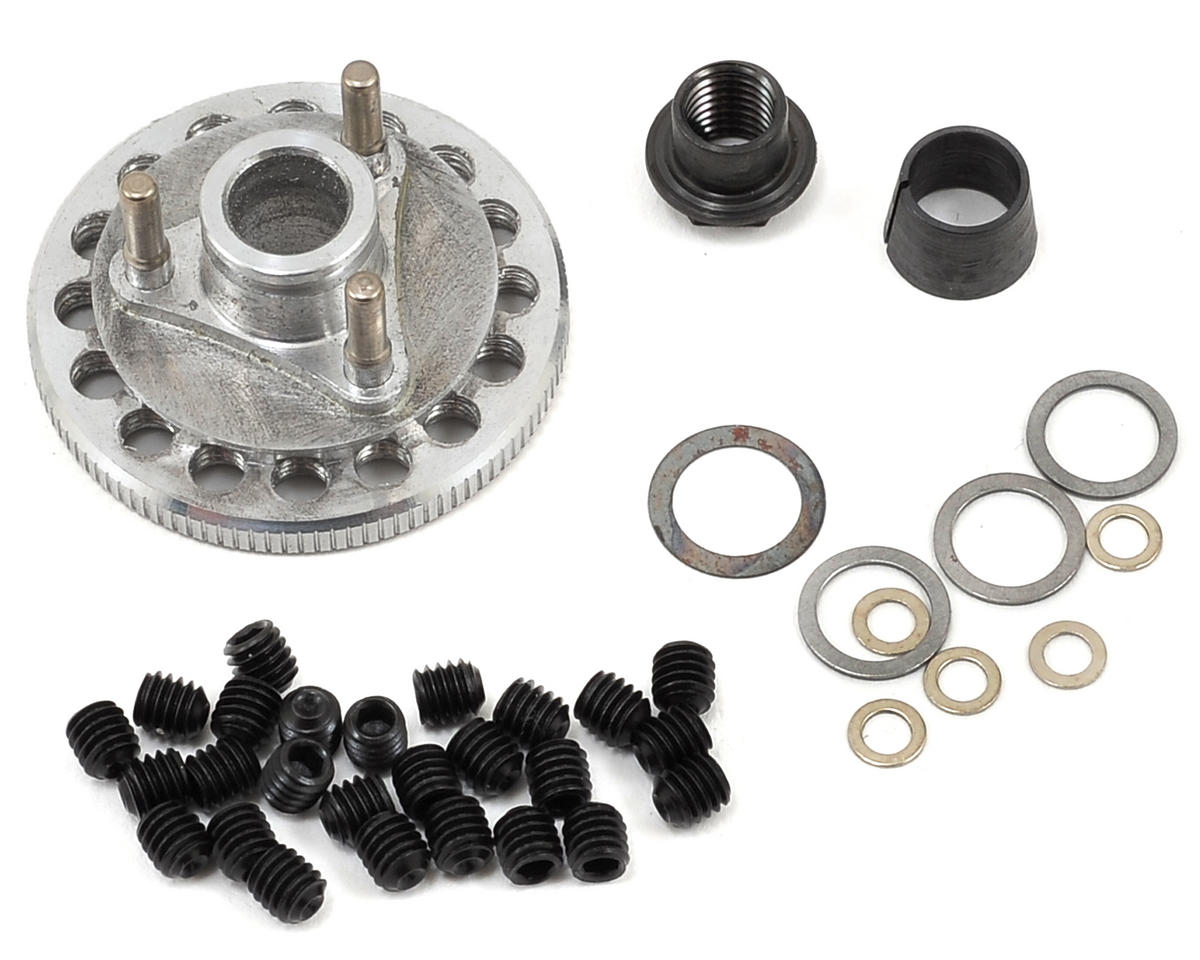 M2C Racing Gen 2 34mm Quick Change 3 Shoe Adjustable Flywheel & Hardware Set (OFNA Dirt Pro Late Model)