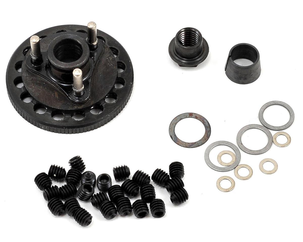 M2C Racing Gen 2 34mm Steel Quick Change 3 Shoe Adjustable Flywheel & Mounting Hardware Set