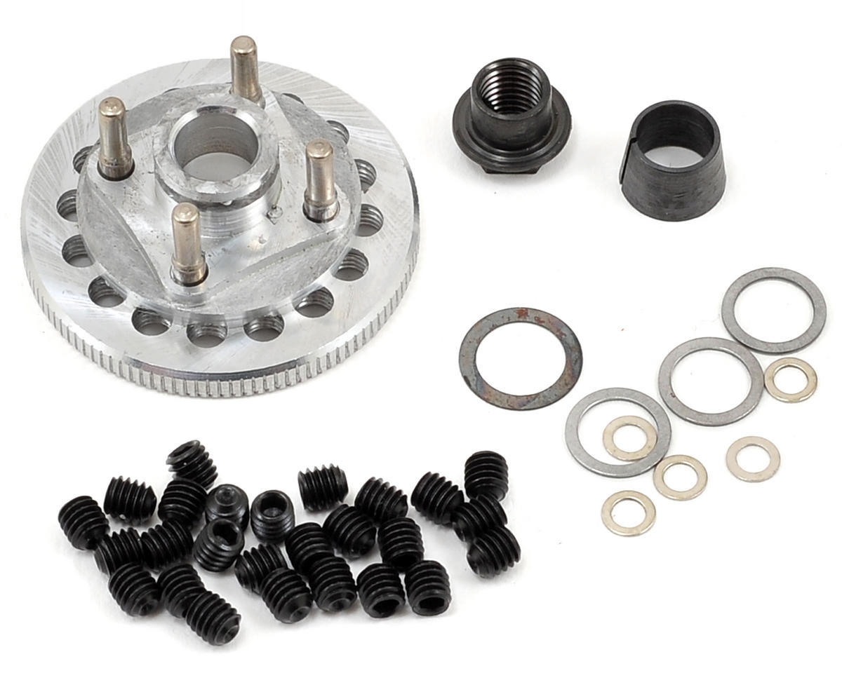M2C Racing Gen 2 36mm Quick Change 4 Shoe Adjustable Flywheel & Mounting Hardware Set