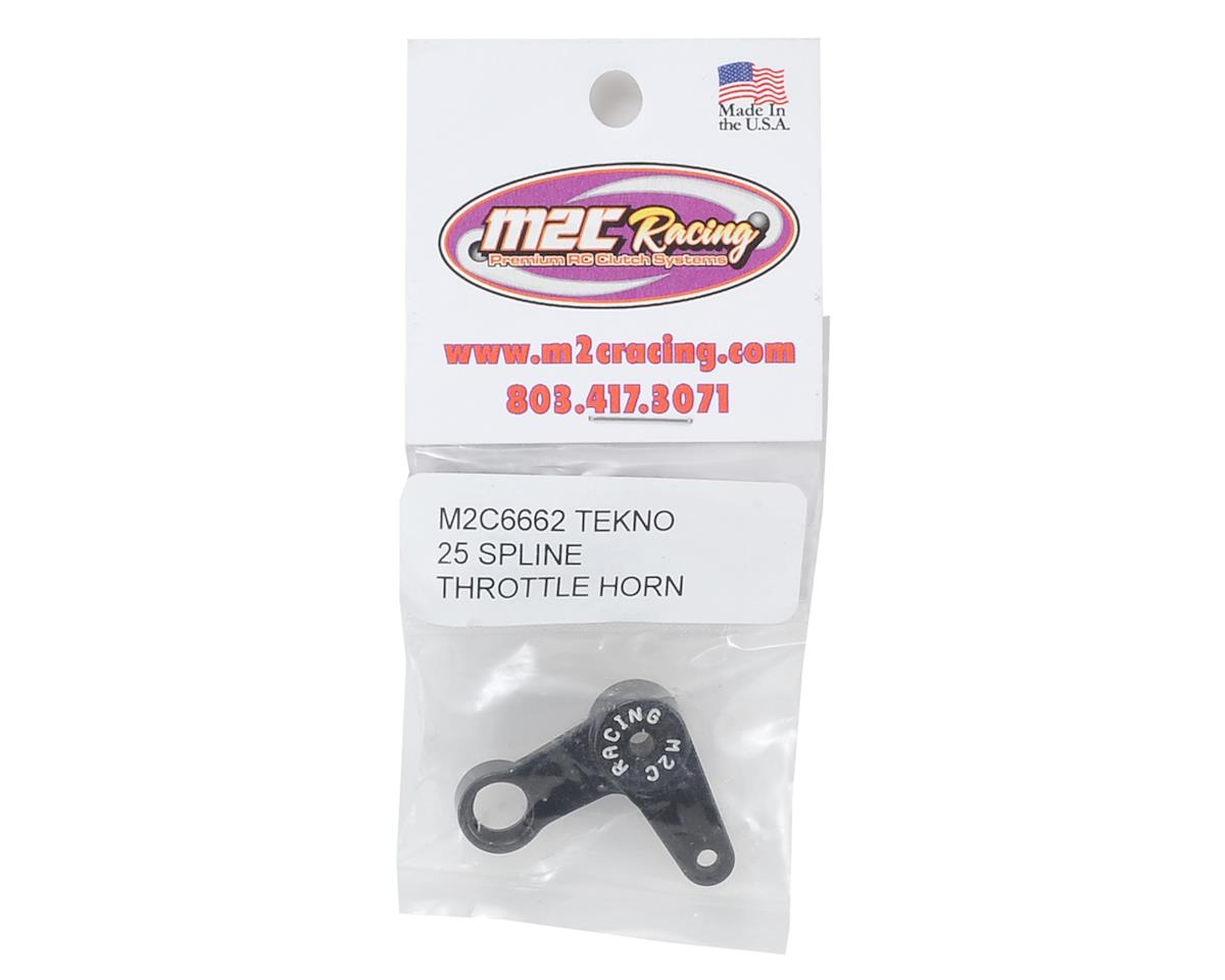 M2C Racing Tekno Aluminum Throttle Servo Horn