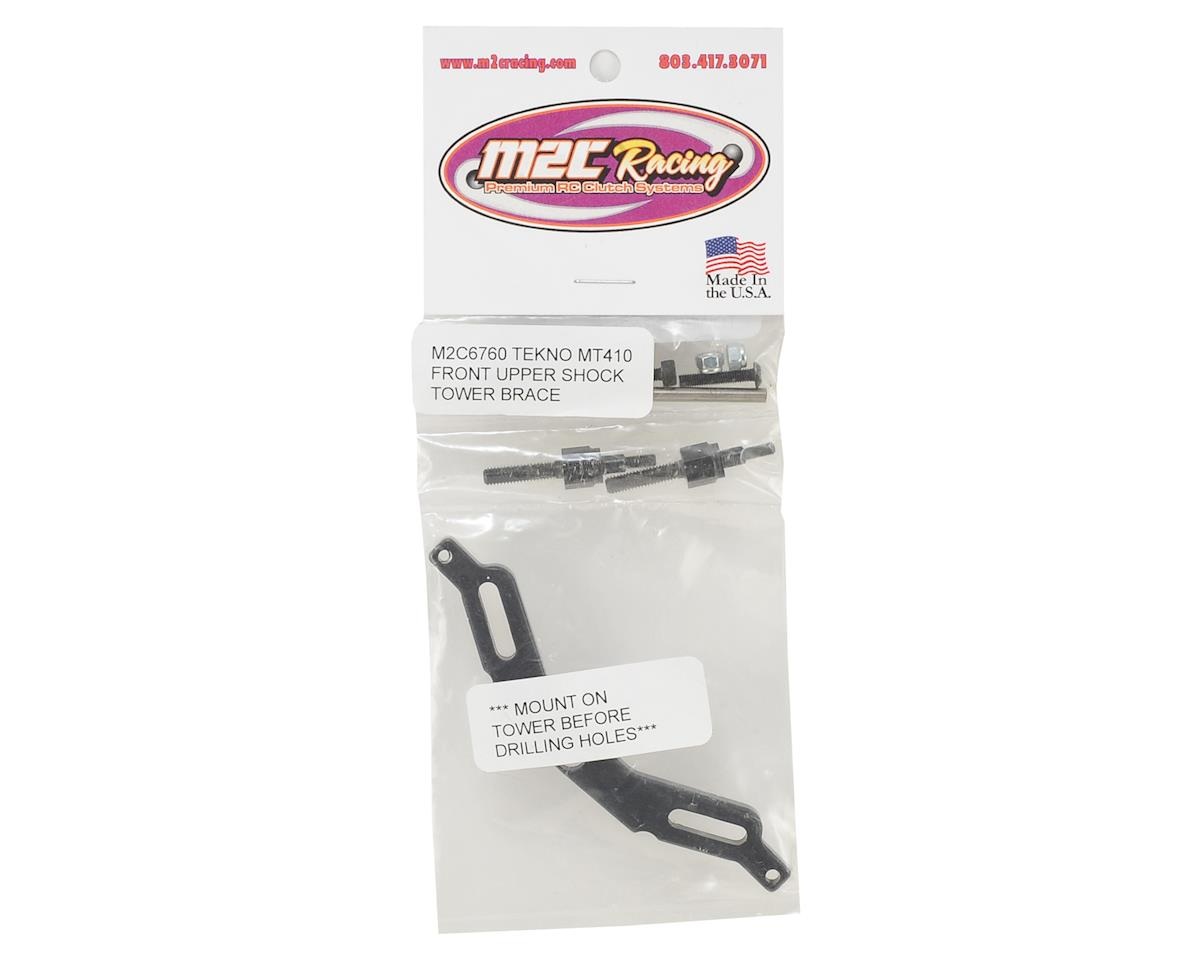 M2C Tekno MT410 Front Upper Shock Tower Brace